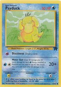 Psyduck 65/82 Team Rocket Common