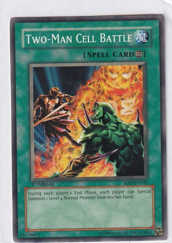 Two-Man Cell Battle