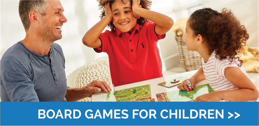 No time for boredom with board games!