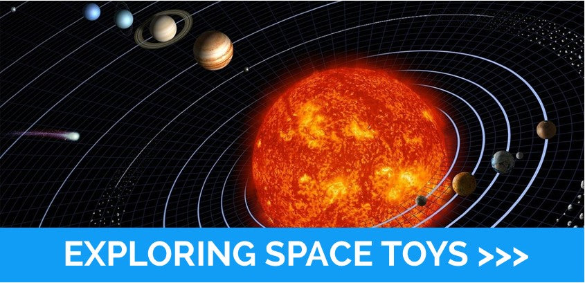 Exploring space toys