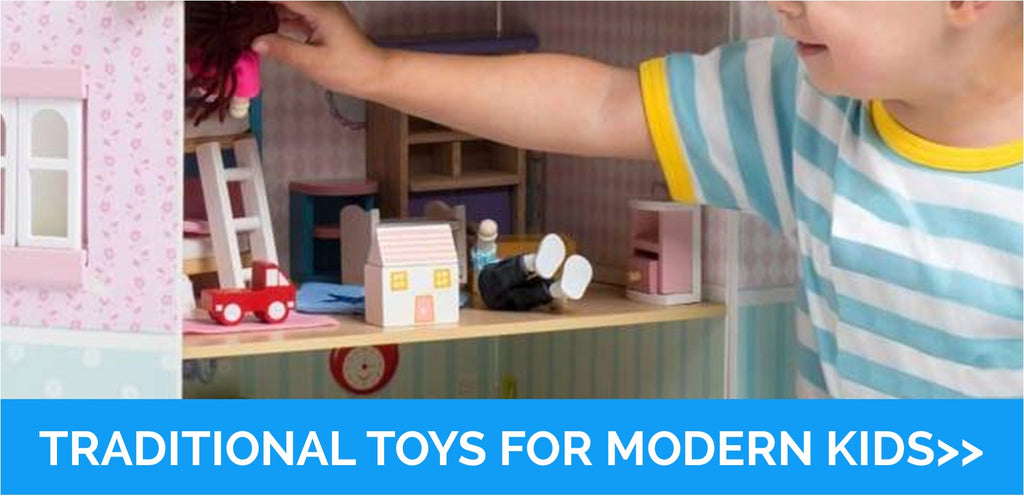 Traditional Toys for Modern Kids