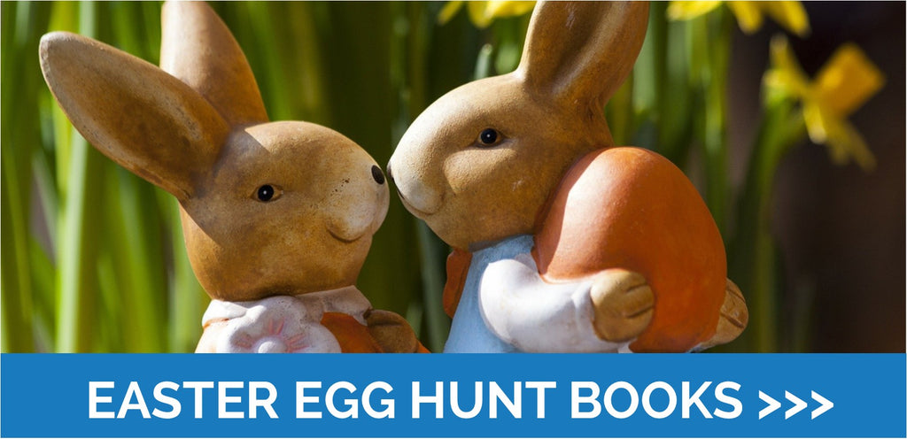 Easter Books - all the fun of the Egg Hunt!
