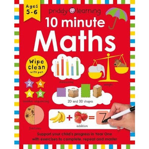 10 Minute Maths - Priddy Books 9781783416592