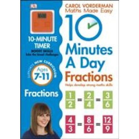 10 Minutes a Day Fractions - Dorling Kindersley 9780241182321