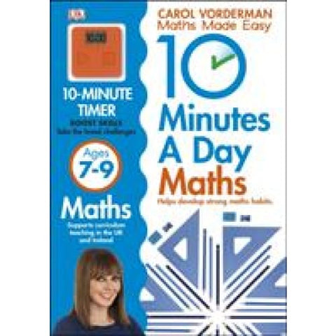 10 Minutes a Day Maths Ages 7-9 Key Stage 2 - Dorling Kindersley 9781409365426