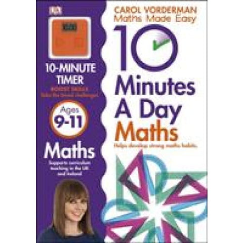 10 Minutes a Day Maths Ages 9-11 Key Stage 2 - Dorling Kindersley 9781409365433