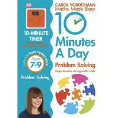 10 Minutes a Day Problem Solving Ages 7-9 Key Stage 2 - Dorling Kindersley 9780241183861