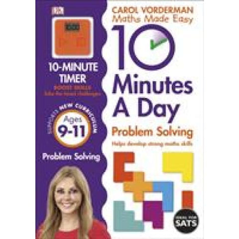 10 Minutes a Day Problem Solving Ages 9-11 Key Stage 2 - Dorling Kindersley 9780241183878