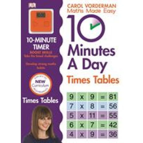 10 Minutes A Day Times Tables - Dorling Kindersley 9781409341406