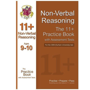 11+ CEM Non-Verbal Reasoning Practice Book with Assesment Tests ( Ages 9-10 ) CGP Books