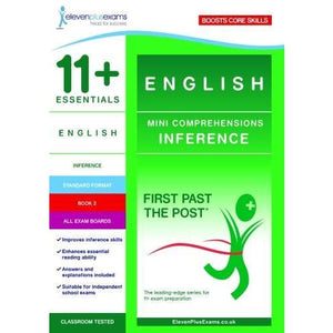 11+ Essentials English Mini Comprehensions: Inference Book 2 - Eleven Plus Exams 9781912364152