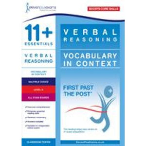 11+ Essentials Verbal Reasoning: Vocabulary in Context Level 4 - Eleven Plus Exams 9781912364718