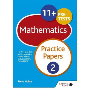 11+ Maths Practice Papers 2: For pre-test and independent school exams including CEM GL ISEB - Hodder Education 9781471869051