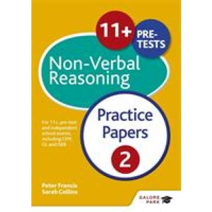 11+ Non-Verbal Reasoning Practice Papers 2: For pre-test and independent school exams including CEM GL ISEB - Hodder Education 9781471869075