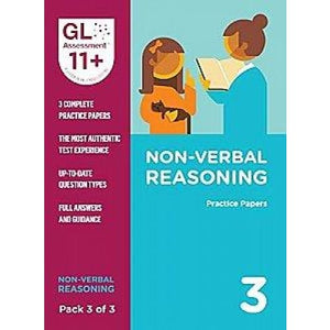 11+ Practice Papers Non-Verbal Reasoning Pack 3 (Multiple Choice) - GL Assessment 9780708727669