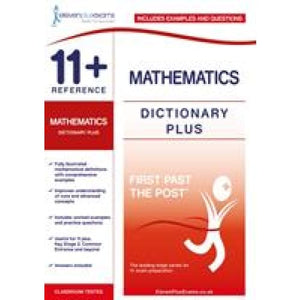 11+ Reference Mathematics Dictionary Plus - Eleven Exams 9781912364473