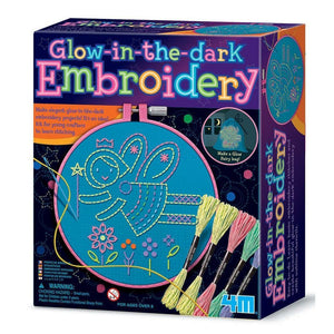 4M Great Gizmo Glow Embroidery Stitches - Gizmos