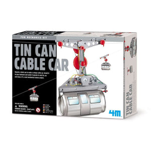 4M Great Gizmo Tin Can Cable Car - Gizmos 4893156033581