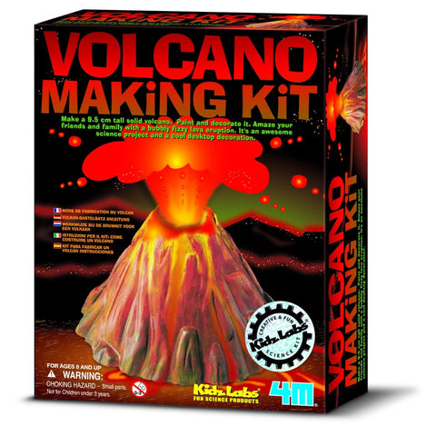 Image of 4M Great Gizmo Volcano Making Kit - Gizmos 4893156032300