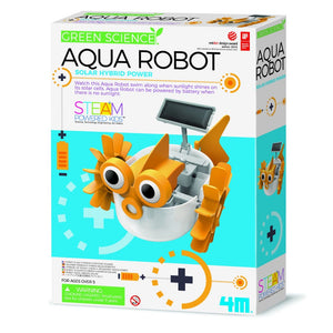 4M Hybrid Solar Power Aqua Robot - Great Gizmos