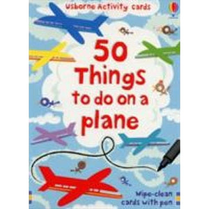 50 Things to Do on a Plane - Usborne Books 9780746099889