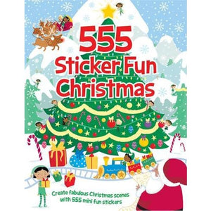555 Sticker Fun Christmas - Imagine That Publishing 9781784453398