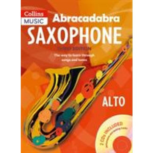 Abracadabra Saxophone (Pupil's book + 2 CDs): The Way to Learn Through Songs and Tunes - HarperCollins Publishers 9781408105290