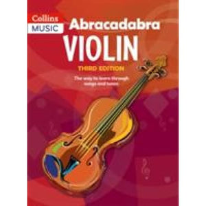 Abracadabra Violin (Pupil's book): The Way to Learn Through Songs and Tunes - HarperCollins Publishers 9781408114605