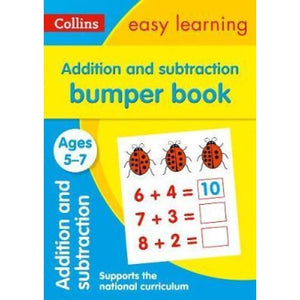 Addition and Subtraction Bumper Book Ages 5-7 - HarperCollins Publishers 9780008275464