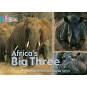 Africa's Big Three: Band 07/Turquoise - HarperCollins Publishers 9780007186938
