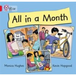 All in a Month: Band 02b/Red B - HarperCollins Publishers 9780007412914