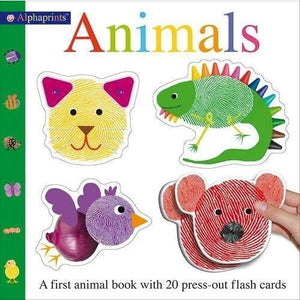 Alphaprint Animals Flashcard Book - Priddy Books 9781783416448