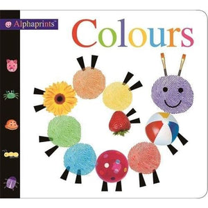 Alphaprint Colours Flashcard Book - Priddy Books 9781783416455