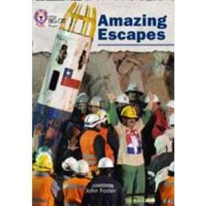 Amazing Escapes: Band 05 Green/Band 16 Sapphire - HarperCollins Publishers 9780007428915