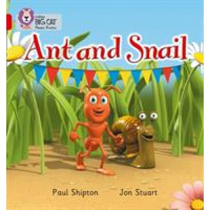 Ant and Snail: Band 02a/Red a - HarperCollins Publishers 9780007235841