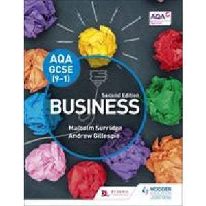 AQA GCSE (9-1) Business Second Edition - Hodder Education 9781471899386
