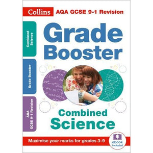 AQA GCSE 9-1 Combined Science Trilogy Grade Booster for grades 3-9 - HarperCollins Publishers 9780008276843