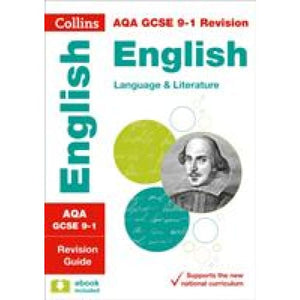AQA GCSE 9-1 English Language and Literature Revision Guide - HarperCollins Publishers 9780008112578