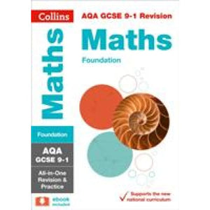 AQA GCSE 9-1 Maths Foundation All-in-One Revision and Practice - HarperCollins Publishers 9780008112516