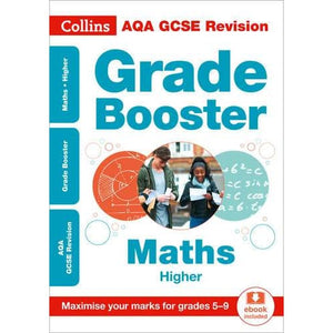 AQA GCSE 9-1 Maths Higher Grade Booster for grades 5-9 - HarperCollins Publishers 9780008227364