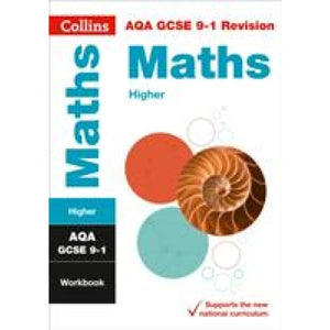 AQA GCSE 9-1 Maths Higher Workbook - HarperCollins Publishers 9780008326654
