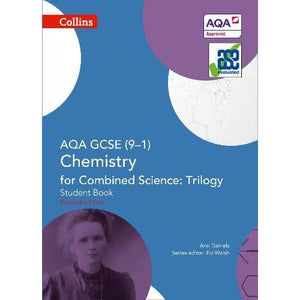 AQA GCSE Chemistry for Combined Science: Trilogy 9-1 Student Book - HarperCollins Publishers 9780008175054