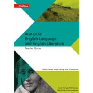 AQA GCSE English Language and Literature Teacher Guide - HarperCollins Publishers 9780007596812