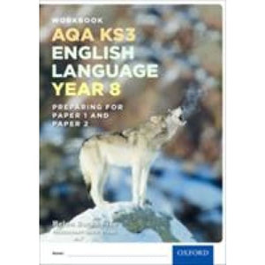 AQA KS3 English Language: Key Stage 3: Year 8 test workbook - Oxford University Press 9780198368830