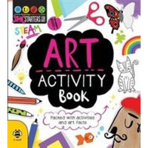 Art Activity Book (STEAM) - b small publishing 9781911509219