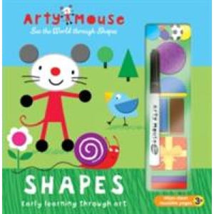 Arty Mouse - Shapes: Early Learning Through Art - Imagine That Publishing 9781784453350