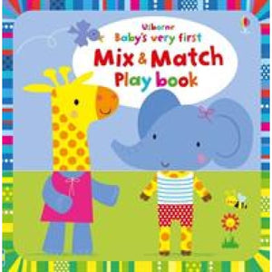 Babys Very First Mix and Match Playbook - Usborne Books