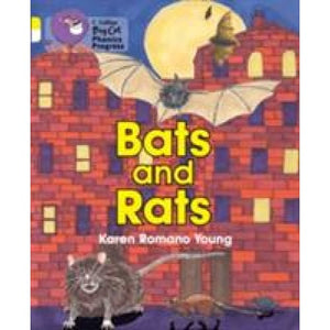 Bats and Rats: Band 03 Yellow/Band 10 White - HarperCollins Publishers 9780007516421