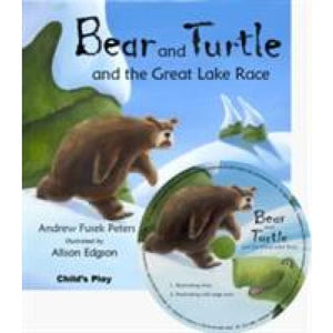 Bear and Turtle the Great Lake Race - Child's Play International 9781846433474