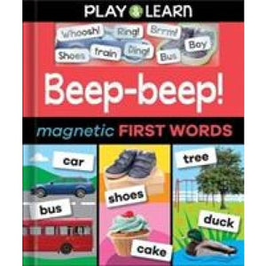 Beep-beep! Magnetic First Words - Imagine That Publishing 9781787003071
